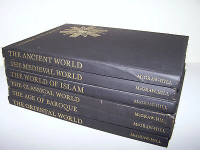 Lot Of 6 Landmarks Of The Worlds Art Series Books Baroque Oriental Islam Ancient