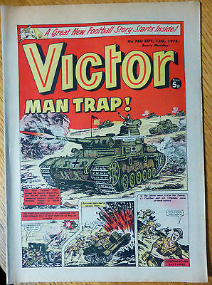 The Victor (UK Comic) - Issue #760 (13th September 1975)