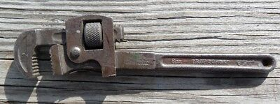 """Antique J. P. Danielson Co  8"""" Steel Pipe Wrench"""
