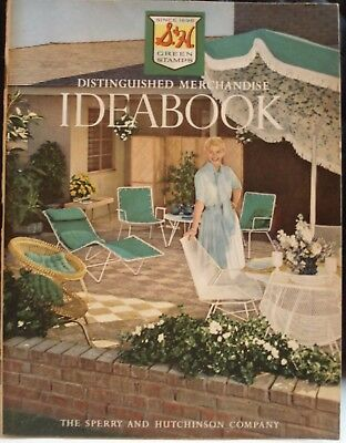 S&H Green Stamps Ideabook 1960 Catalog