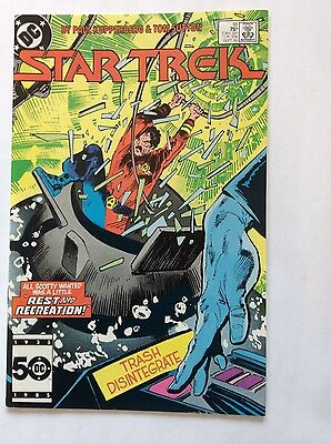 """Star Trek #18 (Sep 1985, DC) VF/NM """"All Scotty Wanted"""" issue"""