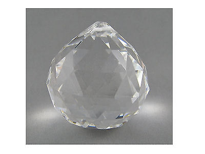 CRYSTAL SPHERE BALL - Size 40mm  For Suncatchers, Crafts Etc. - Hanging Type