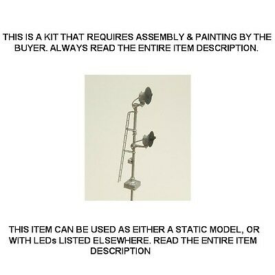 N Scale: Static Pole Mount Searchlight Signal - Showcase Miniatures #514