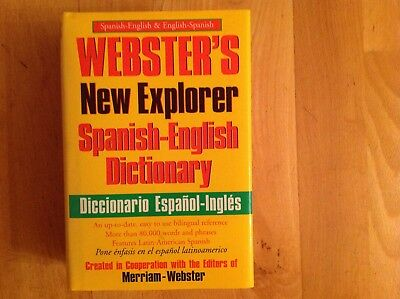 Webster's Spanish-English Dictionary