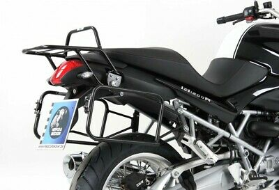 BMW R1200R Built 11-14 Luggage Carrier Pannier Rack Lock It Black R 1200 R