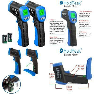 Temperature Thermometer Gun Digital Non contact Baby Kid Adult Body IR Infrared