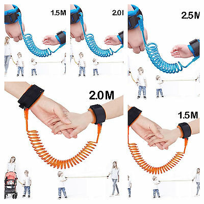 Anti Lost Wrist Link Safety Leash Harness Strap Hand Belt For Kids Children Baby