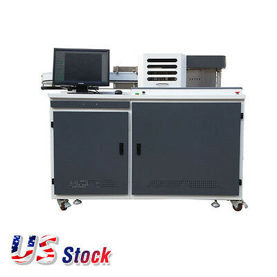 US Stock Heavy Duty Automatic Fabrication Channel Letter Bender Machine