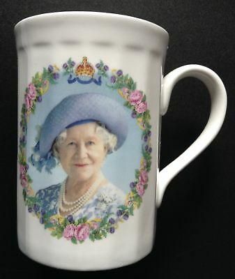 Queen Mother 100th Birthday Cup Collectible GLM Staffordshire Fine Bone China