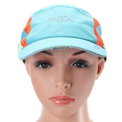 New Outdoor Running LED Hat Camping Sweat-absorbent Quick Dry Headlamp