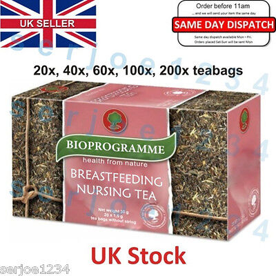 Nursing Tea for Breastfeeding Mothers, Increases breast milk lactation, Natural