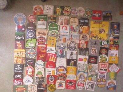 100 Different AUSTRALIAN  Issued  BEER COASTERS