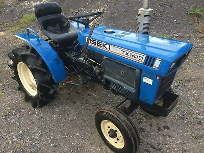 Iseki TX1410 Compact Tractor 2WD Spares Or Repair