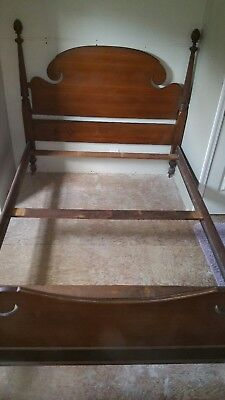 Antique Four Post Bed Frame