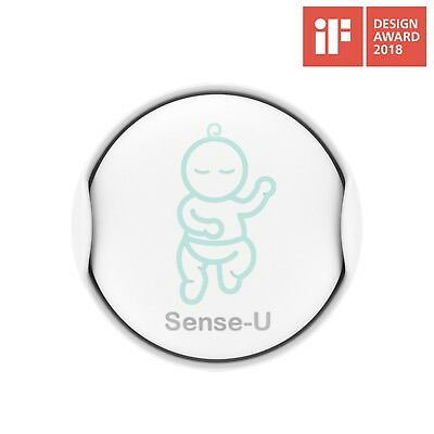 Sense-U Baby Breathing & Rollover Movement Monitor:Breath,Rollover,Overheat,Cold
