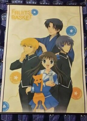 Fruits Basket Fabric Wall Scroll 33×44 Manga