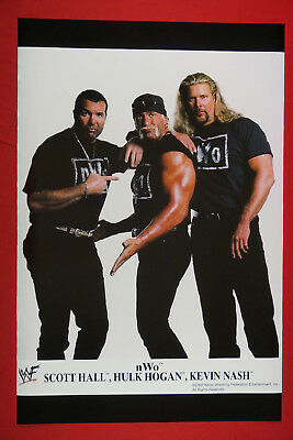 NWO WWF Scott Hall Kevin Nash Hulk Hogan 2002 Wrestling Picture Poster 24X36 New