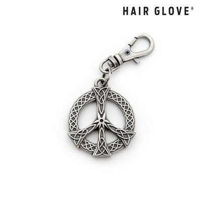 Hair Glove® Biker Zipper Pull Charm, Celtic Peace Sign, 61018, Jacket Jewelry