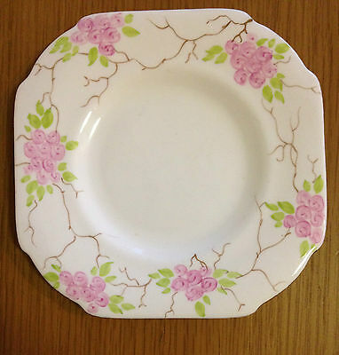 ROYAL GRAFTON 6023 FINE BONE CHINA Bread & and Butter Side Plate Art Deco 1930s