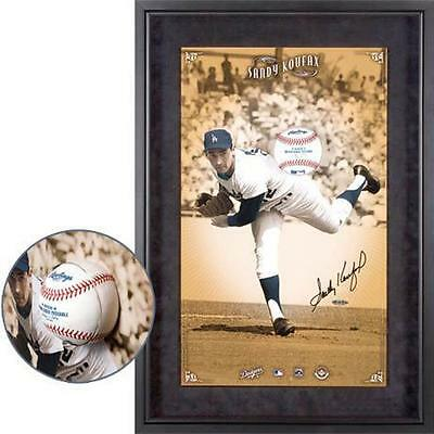 SANDY KOUFAX Signed Autographed  Break Thru Framed Photo UDA UPPERDECK