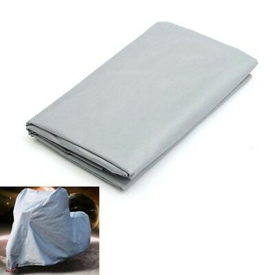 New 230x130cm Silver Rain Cover Motorcycle Protector Waterproof Dustproof