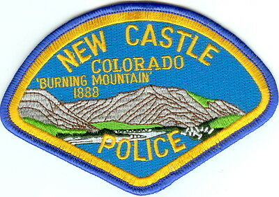 New Castle Police Patch Colorado CO NEW!!
