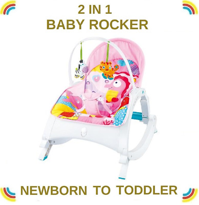 Baby/Infant Rocker/Bouncer Music Vibration toys & three level Sitting Position