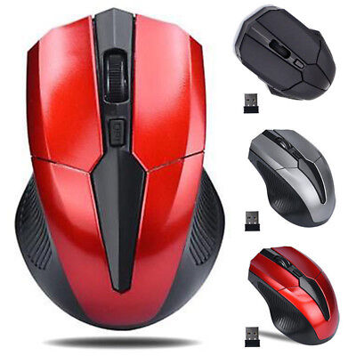2.4GHz Optical Mouse Cordless USB Receiver For Laptop PC Computer Wireless KY