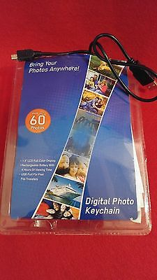 Coby 1.5-Inch Digital LCD Photo Keychain Red DP151  FREE SHIPPING