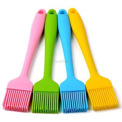 Silicone Baking Basting Brushes Bakeware Cake Pastry Bread Oil Cream Cooking New