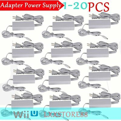 Lot 1~20 Fast Charge For Nintendo Wii U Gamepad US Wall AC Charger Power Supply