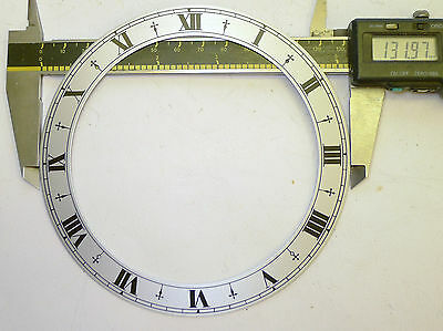 ELLIOTT mantel/bracket/chiming/timepiece clock silvered clock CHAPTER RING