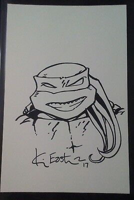Kevin Eastman Teenage Mutant Ninja Turtles Original Sketch Sale!!!