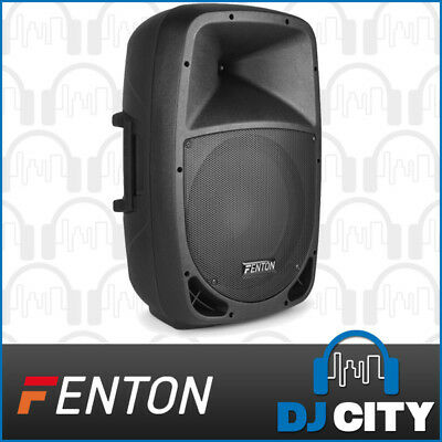 Fenton FTB1200A Powered Active 12 Inch PA DJ Party Speaker 250W w/ Mixer