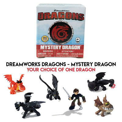 Dreamworks Dragons Mystery Dragon - YOUR CHOICE [2017 Train Blind Box Figure]