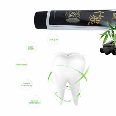 Bamboo Charcoal Black Toothpaste Vanilla Chocolate Toothpaste Oral Hygiene YW