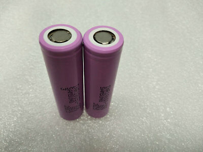 2pcs NEW SAMSUNG INR18650-35E INR18650 RECHARGEABLE 3.7V 3500mAH BATTERY LI-ION