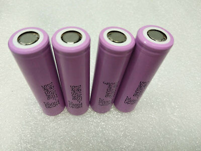 4pcs NEW SAMSUNG INR18650-35E INR18650 RECHARGEABLE 3.7V 3500mAH BATTERY LI-ION