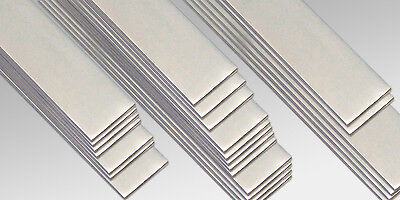 STAINLESS STEEL(304) FLAT BAR 20,30,40,50mm x 3mm thickness (in many Lengths)