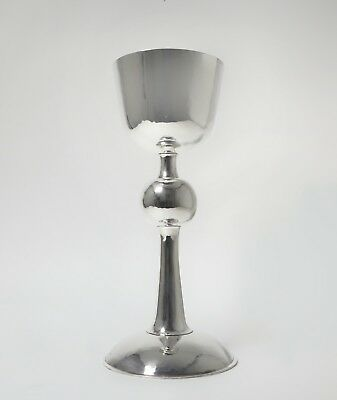 Big solid silver cup (goblet, chalice). Was imported to Sweden.