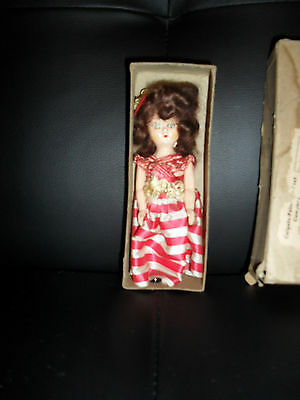 """X1 1940S? SML DOLL NICE""""STILL IN BOX UNPLAYED WITH / free post & insurance"""