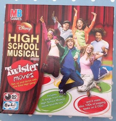 Twister Moves High School Musical Edition DVD Game - Complete New Unopened