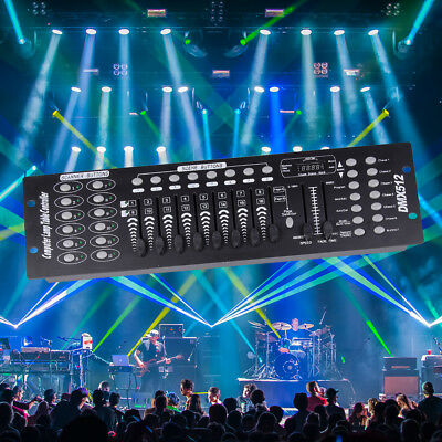 U`King 192CH Stage Lighting Standard Universal DMX Controller DJ Disco Console