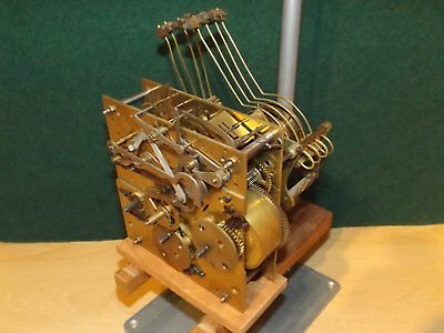 Junghans westmister movement serviced cleaned dates from 1910-20s