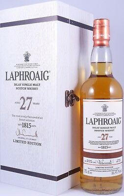 Laphroaig 27 Years limited Edition 2017 Double Matured Scotch Whisky 41,7% Vol.