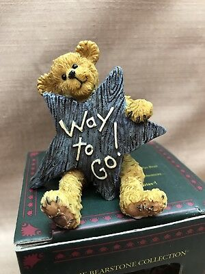 "Boyd`s Bearstone Star ""Way to Go!"" NIB 1E"