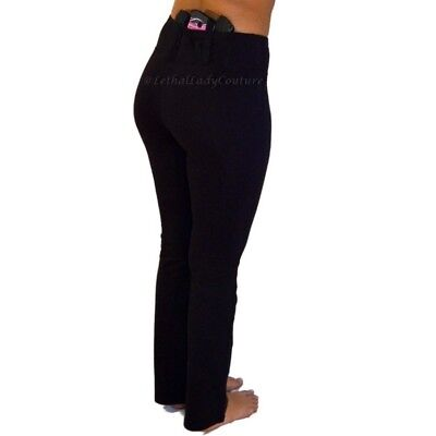 aee7d9db7f3d07 Women's Concealed Carry Yoga Pant with IWB Gun Holster- CCW Tactical Pant  XS-XXL