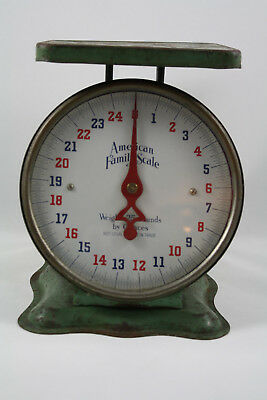 Vintage American Family Scale, 25 Pounds by Ounces
