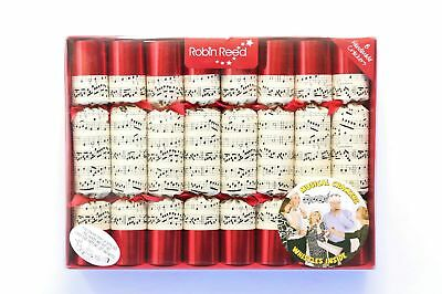 Robin Reed H7 Wedding Christmas Holiday 8 Piece Party Crackers – Concerto 588