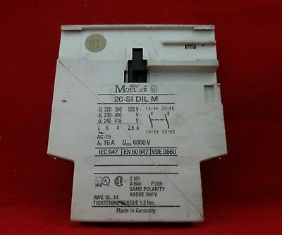 Moeller 20Sidilm Side Contact Accessory
